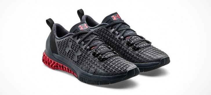 Baskets Under Armour imprimées en 3D