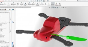 Drone racer ZMR250 solidworks