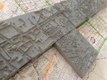 Réplique de ville en 3D