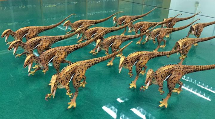 jouet dinosaure imprimé en 3D