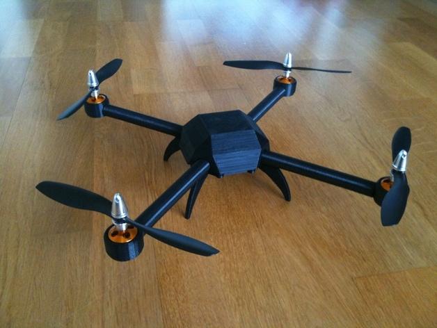 drone pl1q vampire imprimé en 3D
