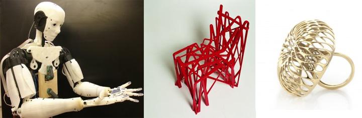 exposition Lieu du design Impression 3D, l'usine du futur