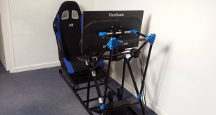 Simulateur de course imprimé en 3D