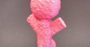Doudou rose imprimé en 3D