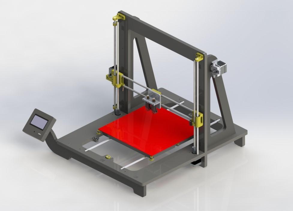 une semaine d impression 3d 13 les imprimantes 3d fr. Black Bedroom Furniture Sets. Home Design Ideas