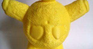 doudou jaune imprimé en 3D
