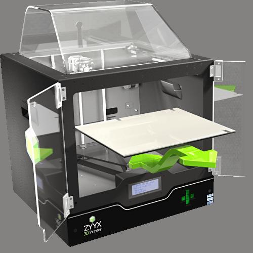 imprimante 3d zyyx caract ristiques prix tests etc. Black Bedroom Furniture Sets. Home Design Ideas