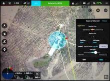 Perou scanner 3D modelisation drone statue Christ