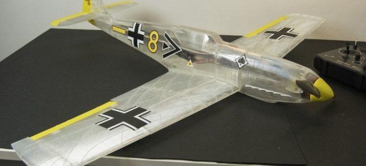 Messerschmitt Bf 109T imprimé en 3D