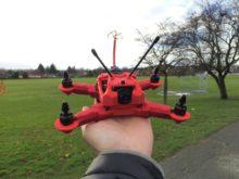 drone imprimé en 3D