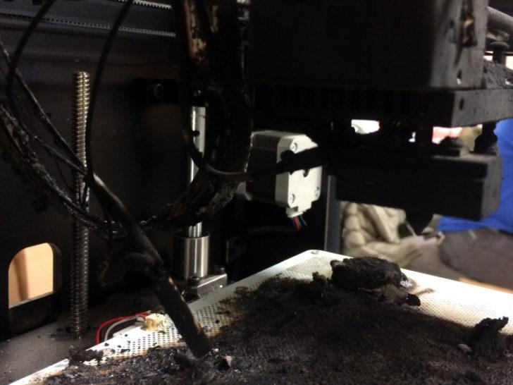 imprimante 3D incendie