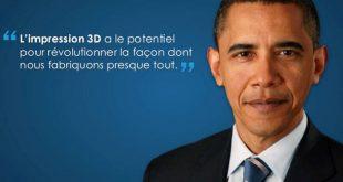 Barack Obama impression 3D