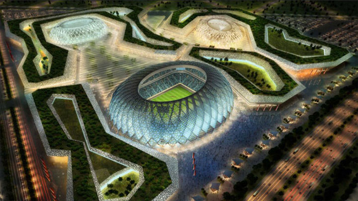 Al Wakrah World Cup Stadium by Zaha Hadid Architects