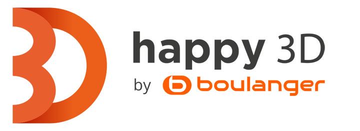 Boulanger Happy3D logo