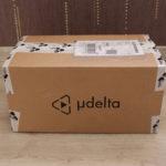 Unboxing eMotion Tech UDelta - colis fermé