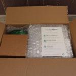 Unboxing eMotion Tech UDelta - colis ouvert