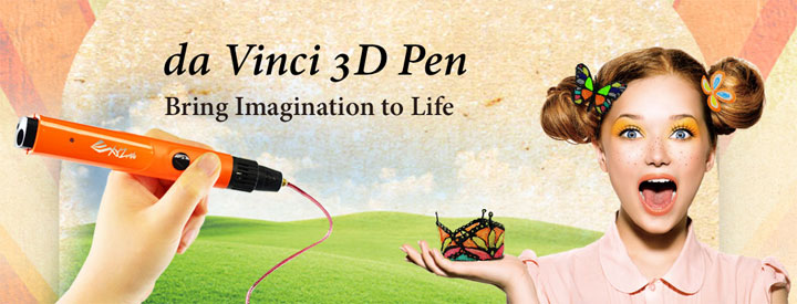 stylo 3D XYZprinting da Vinci Pen