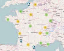 Carte des makers en France