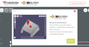 3D Slash dans FreeLabster