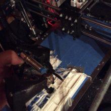 fail imprimante 3D incendie