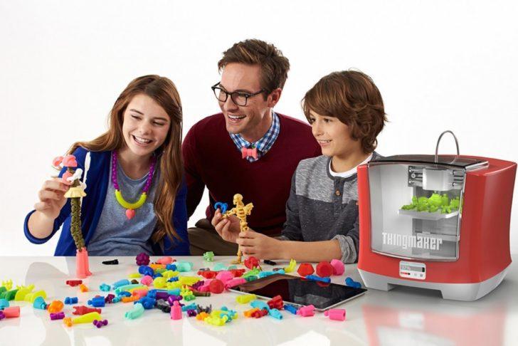 impression 3D famille