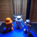 robots imprimés en 3D