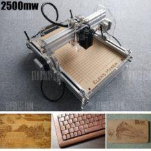 2500mw A5 Mini Laser Engraving Machine