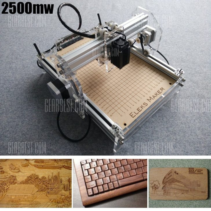 2500mw A5 Mini Laser Engraving Machine
