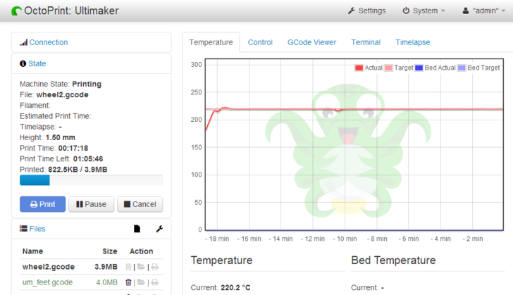 octoprint-screenshot-temperature
