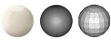 stl mesh triangles size