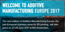 Additive Manufacturing Europe 2017