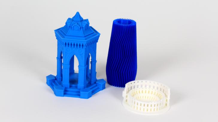 Objets imprimés en 3D sur la Sculptr Delta