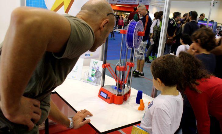 La Sculptr Delta à la Maker Faire Rome 2016