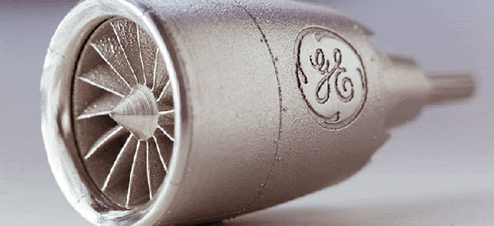 General Electric impression 3D