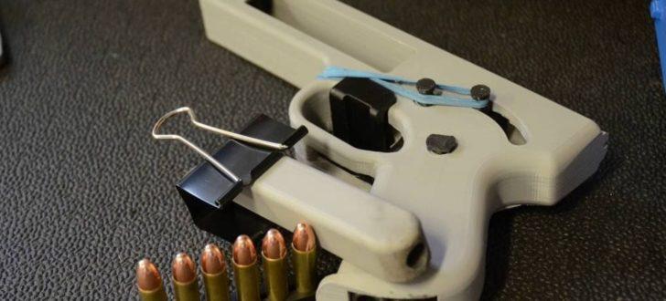 pistolet 357 magnum imprime en 3d