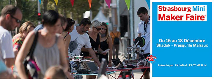 Strasbourg Mini Maker Faire 2016