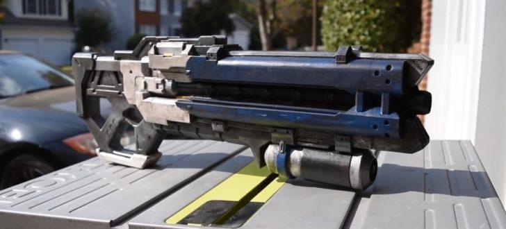 arme imprimée en 3d