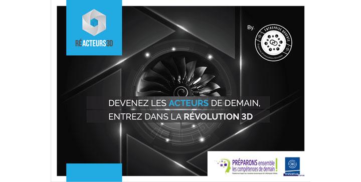 entreprise ouverte conference reacteurs 3D