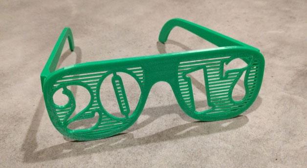 imprimante 3D lunettes 2017
