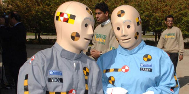 Humanetics CAD fichier 3D crash test dummies