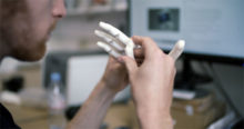 prothese main enfant imprimée en 3D