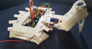 Hexapode imprimé en 3D