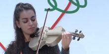 photo Laura Ayoub violon 3Darius Stradivarius imprimé en 3D