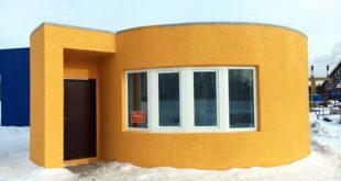 impression 3D beton Apis Cor construction maison imprimante