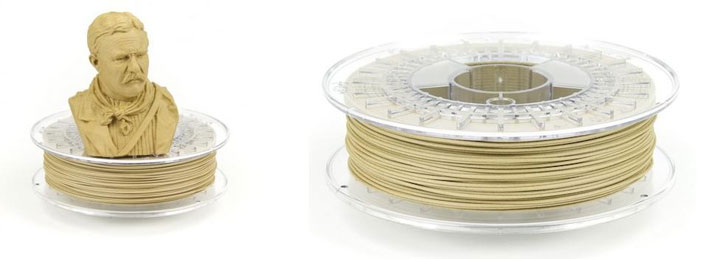 Colorfabb Bamboofill filament bambou 3D