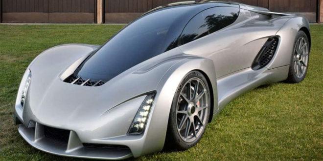 Divergent 3D Blade voiture de course imprimée en 3D