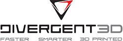 Divergent 3D logo
