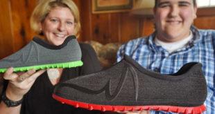 chaussures géantes XXL Feetz impression 3D