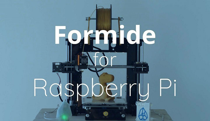Printr Formide Cloud Solution Raspberry Pi