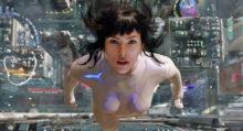 Scarlett Johansson Ghost in the Shell 3D